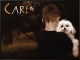 Care Framed Canvas Print