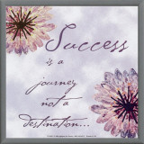 Success Framed Canvas Print by Paula Scaletta