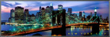 Puente de Brooklyn, Nueva York Framed Canvas Transfer por Richard Berenholtz