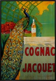Cognac Jacquet Framed Canvas Print by Camille Bouchet