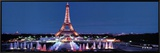 Eiffel Tower Framed Canvas Print