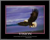 Patriotic Vision Framed Canvas Print