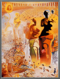The Hallucinogenic Toreador, c.1970 Framed Canvas Print by Salvador Dalí