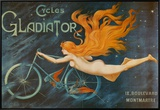 Cycles Gladiator Framed Canvas Print by Georges Massias