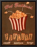 Hot Buttered Popcorn Framed Canvas Print by Louise Max