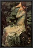 Ophelia, 1894 Framed Canvas Print