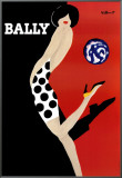 Bally Framed Canvas Print