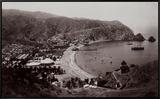 Avalon Harbor, Santa Catalina Island, California 1885 Framed Canvas Print