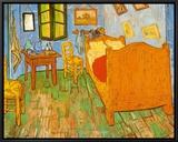 O quarto em Arles, cerca de 1997 Impressão em tela emoldurada