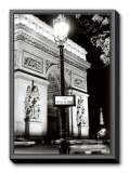Place Charles de Gaulle Framed Canvas Print by Clay Davidson