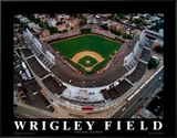 Wrigley Field - Chicago, Illinois Framed Canvas Print by Mike Smith