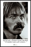 Steve Prefontaine, Portrait Framed Canvas Print by Brian Lanker