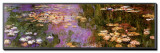 Water Lilies I Framed Canvas Print by Claude Monet