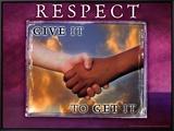 Respect Framed Canvas Print