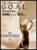 Ultimate Goal Framed Canvas Print