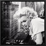 Marilyn Monroe Framed Canvas Print