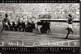 Emil Zatopek: 1952 Triple Gold Medalist Stretched Canvas Print