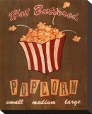 Hot Buttered Popcorn Stretched Canvas Print by Louise Max