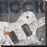 Rock Concert II Stretched Canvas Print