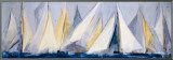 First Sail I Framed Canvas Print by Mar&#237;a Antonia Torres