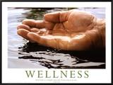 Wellness Framed Canvas Print