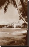 Royal Hawaiian Hotel, Waikiki, Hawaii Stretched Canvas Print