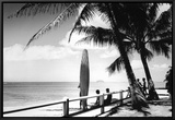 Oahu, 1955 Framed Canvas Print by Laurence Hata