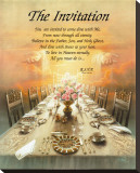 The Invitation Stretched Canvas Print by T. C. Chiu