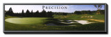 Precision: Golf Framed Canvas Print by Bruce Curtis