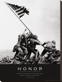 Honor: Iwo Jima Stretched Canvas Print