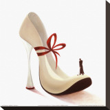 Highheels, Romance Stretched Canvas Print by Inna Panasenko