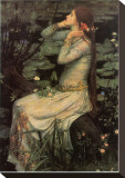 Ophelia, 1894 Stretched Canvas Print