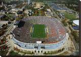 Notre Dame Stadium Stretched Canvas Print