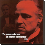 The Godfather: The Offer Stretched Canvas Print