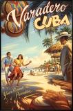 Varadero, Cuba Framed Canvas Print