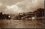 Boeing B-314, 74 Seats, 180 Mph, Pearl Harbor, Hawaii, 1939 Stretched Canvas Print