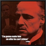 The Godfather: The Offer Framed Canvas Print