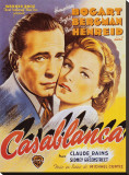 Casablanca Stretched Canvas Print
