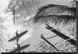 Hawaii, 1958 Stretched Canvas Print