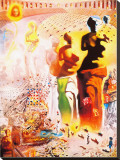 Hallucinogenic Toreador Stretched Canvas Print by Salvador Dalí
