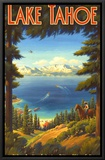 Lake Tahoe Framed Canvas Print by Kerne Erickson