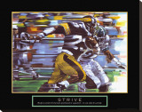 Strive: Football Stretched Canvas Print by Bill Hall