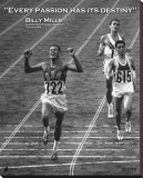 Billy Mills: Destiny Stretched Canvas Print