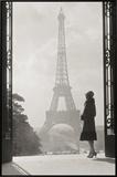 Paris 1928 Framed Canvas Print