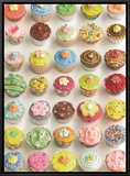 Cup Cakes Framed Canvas Print by Howard Shooter