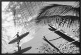 Hawaii, 1958 Framed Canvas Print