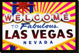 Fabulous Las Vegas Stretched Canvas Print