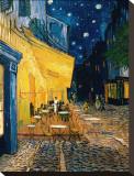 O Café Terrace na Praça do Fórum, Arles, à noite, cerca de 1888 Impressão em tela esticada