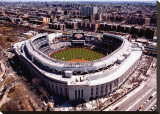 New Yankee Stadium, First Opening Day, April 16, 2009 Stretched Canvas Print by Mike Smith