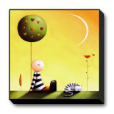 Dreaming Stretched Canvas Print by Jo Parry